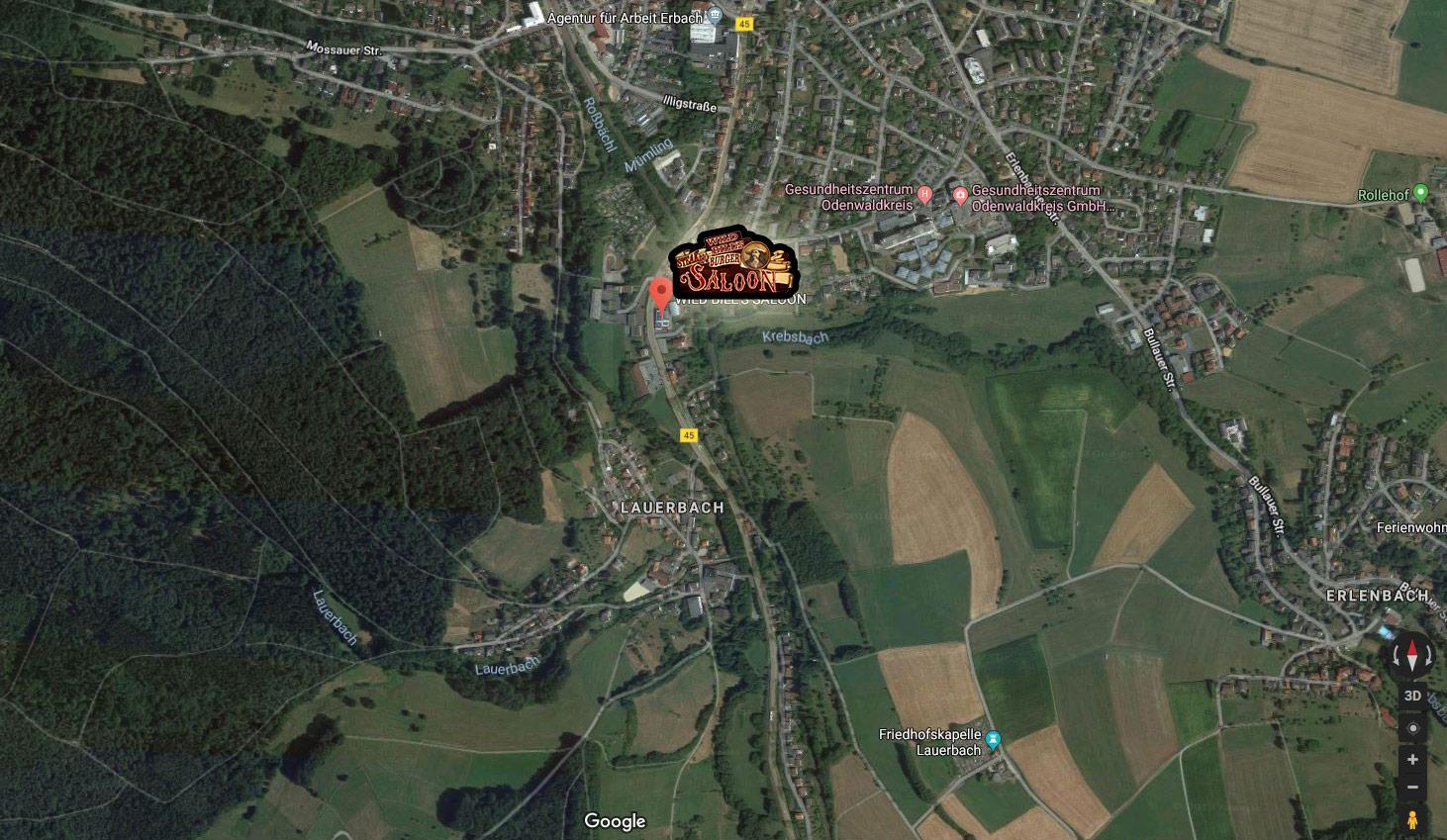 maps erbach